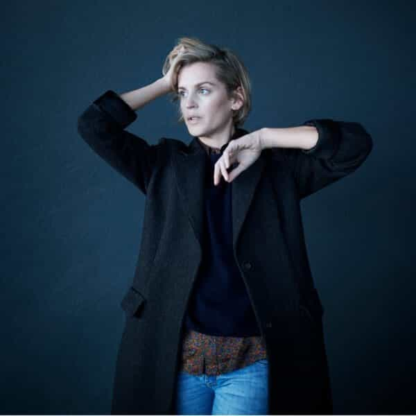 Denise Gough one of the young actors featured in J Sheekey's Future Icons Exhibition